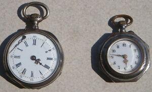 Lot 2 PETITES MONTRES A GOUSSET ANCIENNES + bracelet