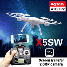 Syma X5SW X5C Wifi FPV + Realtime HD Camera + Headless Mode RC Quadcopter