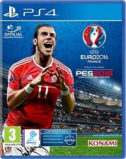 Pro Evolution Soccer 2016 (PES16)  inc. Euro 2016   PS4   PLAYSTATION 4