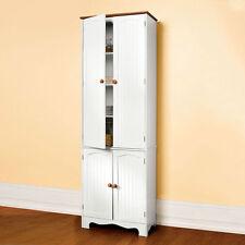 Wooden Kitchen Pantry Cupboard Cabinet Linen Storage Cabinet Cupboard 004