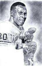 Jerry Rice San Francisco 49ers poster picture ART