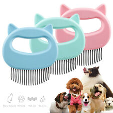 Cat Dog Bath Cleaning Pet Hair Grooming Comb Flea Brush Puppy Handhold Supply