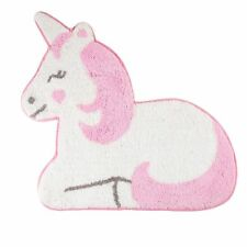 Pink Unicorn Rug Kids Bedroom Carpet Mat Nursery Childrens Home Gift Decoration