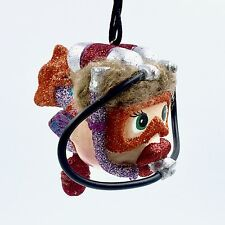 SCUBA Diver Kissing Fish Christmas Ornament Katherine's Collection 28-29326 O
