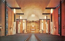 Austin Texas~St Martin's Evangelical Lutheran Church~Sanctuary Interior~1960s PC