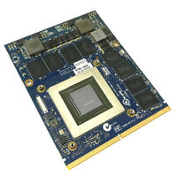 Nvidia GeForce GTX 880M 8GB MXM 3.0 Type B Video Card JH9PP For Alienware Clevo