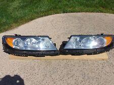 10-12 Lincoln MKZ Headlights Halogen Restored Lenses LH &RH Both Sides Nice OEM