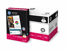 NEW HP A4 90 GSM COPIER COPY PRINTING PAPER 5 REAMS 2500 SHEETS COLORLOK WHITE