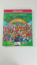 Fisher Price Little People Big Book About Families 1990 Hardcover Time Life