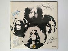 Led Zeppelin III LP 1970 handsigniert signed Page Plant Bonham Jones COA