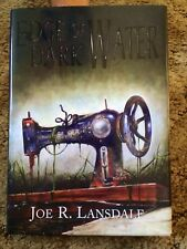 EDGE OF DARK WATER Joe R. Lansdale 1st UK hardcover trade edition SIGNED fine