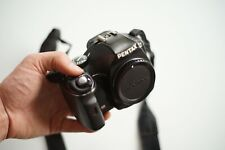 Pentax K-x 12.4mp DIGITAL SLR CAMERA-body only-perfect camera for traveling