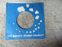 sleeve only ROCKET  45 record company sleeve only 45