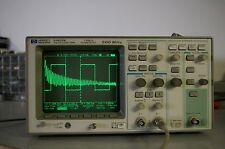 HP 54615B 1 GSa/s 500 MHz Digital storage oscilloscope w 54657A FFT 10430A prb