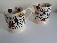 Emma Bridgewater 1/2pt Mug 'Glamorous Easy Super Sandwich'. 1st Quality NEW
