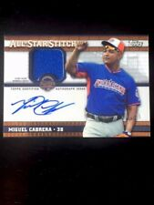 2013 Topps Chrome Miguel Cabrera All Star Stitches Auto Jersey 07/25 Beautiful!!
