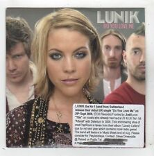 (FZ251) Lunik, Do You Love Me - 2008 DJ CD
