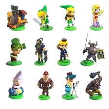 The Legend of Zelda Action Figures 12 PCS Cake Topper PVC Dolls Kids Toys Gifts