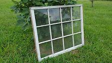 VINTAGE SASH ANTIQUE WOOD WINDOW PICTURE FRAME PINTEREST 12 PANE 40x40 ETSY