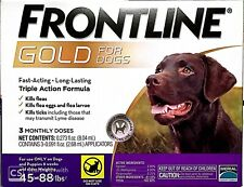 Frontline Gold for dogs 45-88 lbs 3 doses