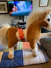 "Spirit Plush Horse, Rain, 10""X 14"", Has Tags, Missing One Eye"