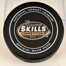 2017 NHL All-Star Game Skills Competition Official Game Puck/ NHL 100th Ann.