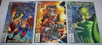 DC SHOWCASE 96 #1, 2, and 4 DC Comic Books
