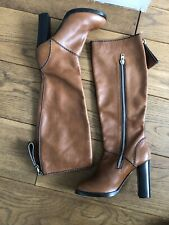 Chloe Edith Brown Leather Boots SZ 40 NEW