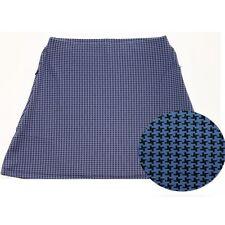 NWT Smashing Golf & Tennis Kathryn Slim & Shape Skort Blue Black XS 0 2 spandex