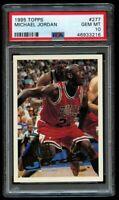 1995-96 Topps Michael Jordan #277 PSA 10 Gem Mint Chicago Bulls HOF