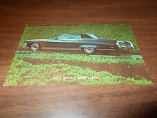 1974 Buick Electra Limited Advertising Postcard
