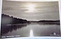 Vintage Postcard Sibodalsviken unposted black and white