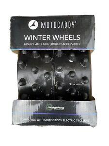 Genuine Motocaddy  S Series Hedgehog Winter Wheels - Boxed - Good Condition