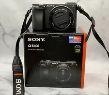 Sony A6400 Digital Camera-With 16-50mm lens, 3 Year Warranty, Only 1177 Shutters