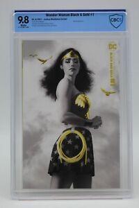 Wonder Woman Black & Gold (2021) #1 Middleton CBCS 9.8 Blue Label White Pages