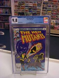 NEW MUTANTS #1 (Marvel Comics, 1983) CGC Graded 9.8 ~WHITE Pages