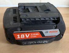 Bosch 18v Li-ion Battery 2.0ah  wireless charging