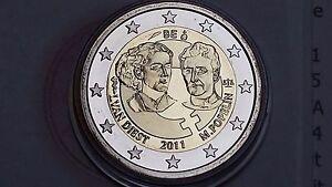 2 euro 2011 Fs BE PP proof BELGIO Belgique Belgium Belgien Belgie without box