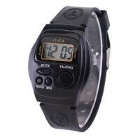 Spanish Language Talking Watch Wrist watch for Elderly Blind Old people Seniors