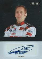 GREG BIFFLE AUTOGRAPHED 2011 PRESS PASS AUTHENTICS NASCAR TRADING CARD #280/287