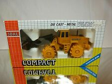 JOAL COMPACT 241 VOLVO BM L160 COMPACTOR  - YELLOW 1:50 - GOOD IN BOX