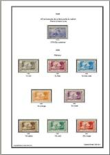 -Album timbres Océanie 1892-1952 à imprimer