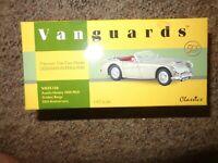 VANGUARDS 1/43 VA05106 AUSTIN HEALEY 3000 MKII GOLDEN BEIGE 50TH ANNIVERSARY