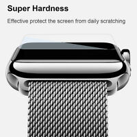 Premium Tempered Glass Screen Protector For Apple Watch Series 4 40 44mm 3 38/42