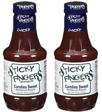 Sticky Fingers Carolina Sweet Barbecue Sauce 18 oz 2 Bottle Pack