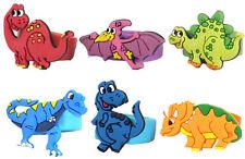 6 Dinosaurier Ringe - Finger Pinata Beute/Party Tüte Füllung Hochzeit