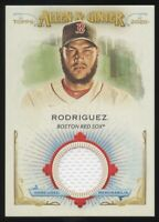 2020 TOPPS ALLEN & GINTER EDUARDO RODRIGUEZ GAME USED JERSEY RELIC RED SOX