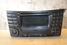 Mercedes E Class SAT NAV Command Unit A2118202097 CD Player W211 2005