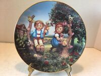 "Set of 11 MI Hummel ""Little Companions"" Plate Collection from The Danbury Mint"