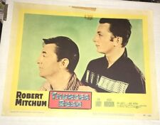 Lot of (5) Thunder Road Lobby Cards 1958 Robert Mitchum Gene Barry Keely Smith